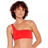 Seafolly - Active One Shoulder Bandeau Bikini Top Damen tangelo