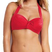 Seafolly - Goddess Soft Cup Halter Damen chili red