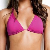 Seafolly - Slide Triangle Bikini Top Damen wild orchid