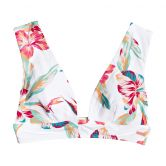 Roxy - Lahaina Bay Verlängertes Triangle-Bikinioberteil Damen bright white tropical call
