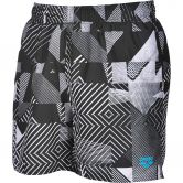 Arena - Optical Badeshorts Herren black turquoise