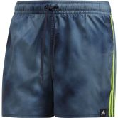 adidas - 3-Stripes Fade CLX Swim Shorts Men legend ink