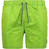 CMP - Beach Shorts Extra Light  Men green striped