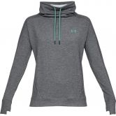 Under Armour - Featherweight Fleece Pullover with Funnel Neck Women grey