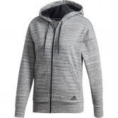 adidas - Must Haves Mélange Kapuzenjacke Damen black off white