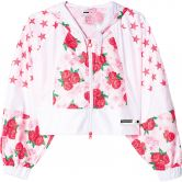 adidas - Rose Jacket Damen white solar red