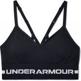 Under Armour - Seamless Low Long Sports Bra Women black