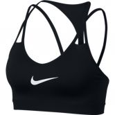 Nike - Indy Cooling Light Support Sport-BH Damen black white