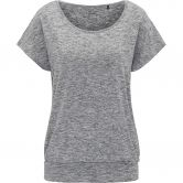 Venice Beach - Riamee T-Shirt Damen coal melange