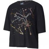 Puma - Metal Splash Graphic T-Shirt Damen puma black