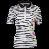 Canyon - Poloshirt 1/2 Arm Damen black white pink apple