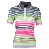 Canyon - Poloshirt 1/2 Arm Damen pinkpink apple grey