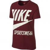 Nike - Sportswear Short Sleeved Shirt Damen red