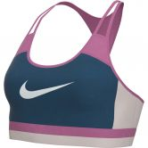 Nike - Swoosh Sports Bra Medium Women valerian blue cosmic fuchsia white