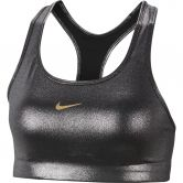 Nike - Swoosh Icon Clash Sport Bra Women black metallic silver