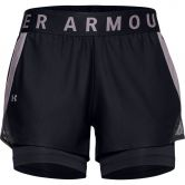 Under Armour - Play Up 2-in-1 Shorts Women black