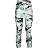 Under Armour - HeatGear® Armour Printed Ankle Crop Tights Women seaglass blue