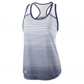 Wilson - Team Striped Tank Damen blue depth white