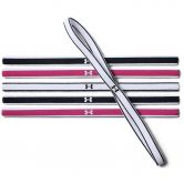 Under Armour - Mini Headbands set of 6 Women white black pink