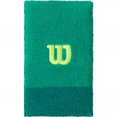 Wilson - Extra Wide W Schweißband Unisex deep green lagoon green sharp green
