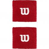 Wilson - W Wristbands Unisex wilson red