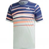 adidas - FreeLift HEAT.RDY T-Shirt Herren dash green tech indigo