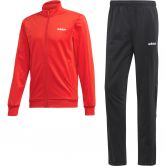 adidas - Essentials Basics Trainingsanzug Herren scarlet black