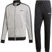 adidas - Essentials Cotton Relax Trainingsanzug Herren medium grey heather black