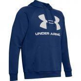 Under Armour - Rival Fleece Logo Hoodie Herren blau