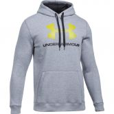 Under Armour - Fitted Graphic Hoodie Herren grau