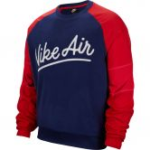 Nike - Air Crew Mix Sweatshirt Men blue void university red white