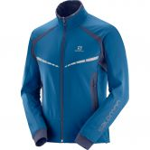 Salomon - RS Warm Softshell Jacke Herren poseidon night sky