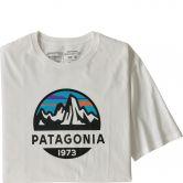 Patagonia - Fitz Roy Scope Organic T-Shirt Herren weiß
